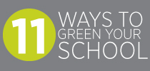 11 ways to green school